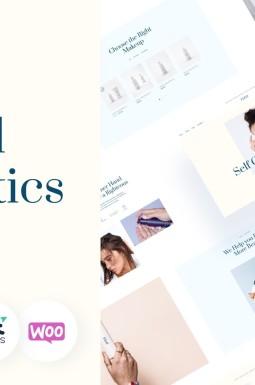 Адаптивный WooCommerce шаблон №139732 на тему магазин косметики
