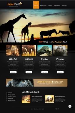 HTML шаблон №40768 на тему зоопарк