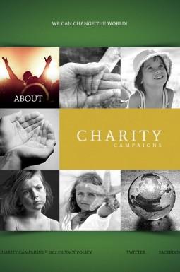 HTML шаблон №40900 на тему детская благотворительность