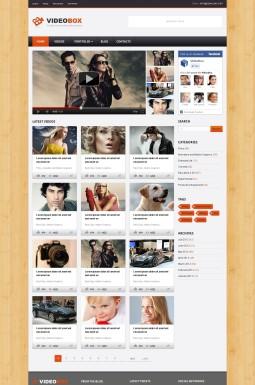 WordPress шаблон №40957 на тему видеогалерея