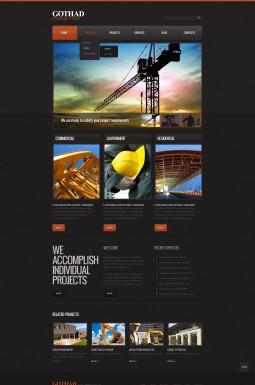 HTML шаблон №41185 на тему строительные компании