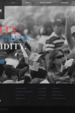 HTML шаблон №41280 на тему политический кандидат