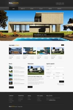 HTML шаблон №41662 на тему агентство недвижимости