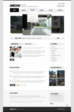 HTML шаблон №42322 на тему архитектура