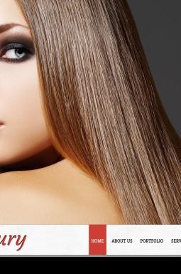 HTML шаблон №42344 на тему парикмахерская