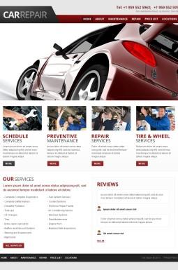 HTML шаблон №42561 на тему ремонт авто