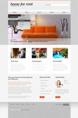 Адаптивный HTML шаблон №42677 на тему недвижимость