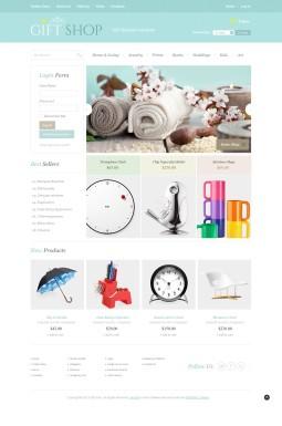 VirtueMart шаблон №43890 на тему магазин подарков