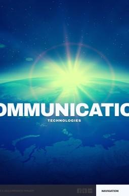 HTML шаблон №44311 на тему коммуникации