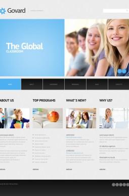 Адаптивный WordPress шаблон №45013 на тему университет