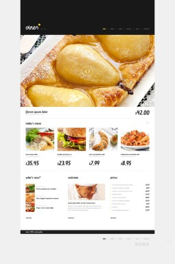Адаптивный WordPress шаблон №45241 на тему коктейль-бар