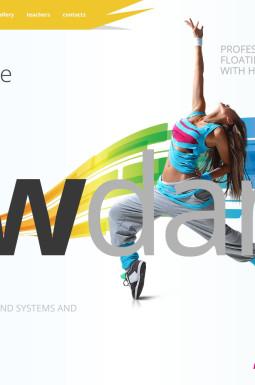 HTML шаблон №45859 на тему танцевальная студия