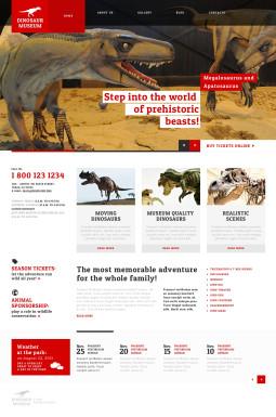 Адаптивный WordPress шаблон №47526 на тему кино