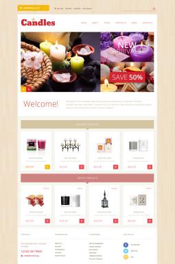Адаптивный WooCommerce шаблон №50472 на тему подарки