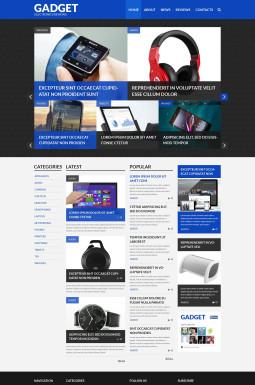 Адаптивный WordPress шаблон №52657 на тему обзор электроники