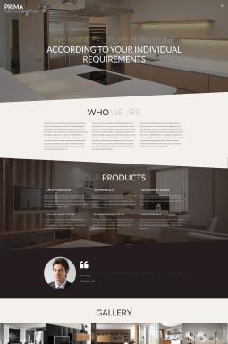 Адаптивный WordPress шаблон №53145 на тему дизайн и интерьер