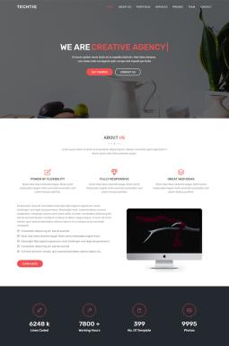 Адаптивный HTML шаблон №67611 на тему дизайн и фотография