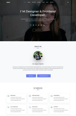 Адаптивный HTML шаблон №67683 на тему дизайн и фотография