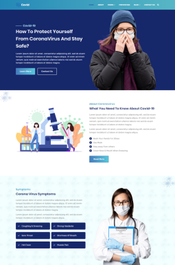 Адаптивный HTML шаблон №99500 на тему веб-дизайн