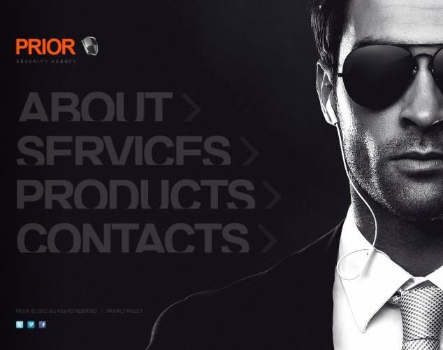 HTML шаблон №41074 на тему частный детектив